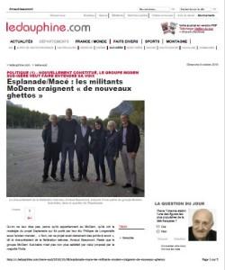 Grenoble EsplanadeMacé - les militants MoDem craignent « de nouveaux ghettos »-1